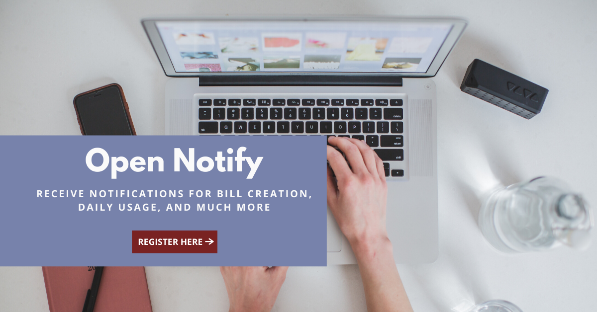 Enroll for Open Notify